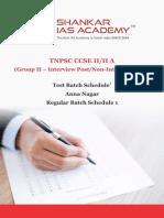 Tnpsc schedule