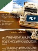 logistics project (romanian language)