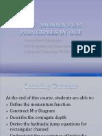 CH-5 Momentum Principle in OCF