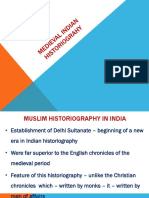 Medieval Indian Historiography