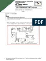 Soal UAS Kelistrikan Otomotif D III