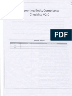Aadhar Compliance Checklist
