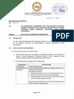 2019 Local Governance Transition