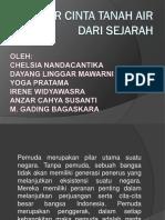 BELAJAR CINTA TANAH AIR DARI SEJARAH.pptx