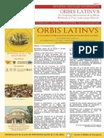 2ª Circular del Congreso ORBIS LATINVS
