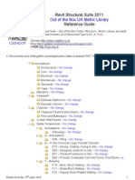 UK Out of the Box Revit Structure Suite 2011 Folder Structure With Files