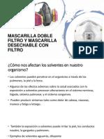 Ppt Induccion Para Mascarilla Doble Filtro