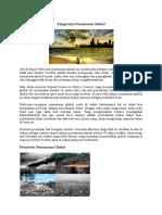 Pengertian Pemanasan Global.docx