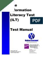 ILT Test Manual March2016