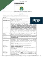 Perícia Papiloscópica Em Identificação Humana 1 - PAPIH