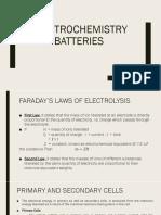 2. Electrochemistry Batteries