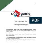 General Presentation Color Game Original