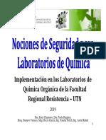 Seminario N° 1 Seguridad en el Laboratorio de Química Orgánica - 2019 [Modo de compatibilidad]