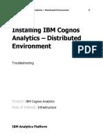 Installing IBM Cognos Analytics