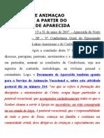 A Pastoral Vocacional No Documento de Aparecida e Dgaeib