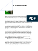 ensayo Evaluación de los aprendizajes.docx