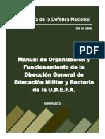 M.O.F. Direcci n General de Educaci n Militar