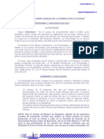 Programa y Guia Didactica Criminologia 2010