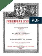 Prophetiarium Xicatunense 2006