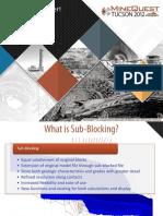 Sub Blocking