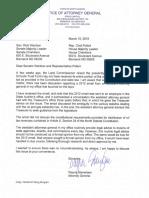 2019-03-19 Wardner Pollert Letter