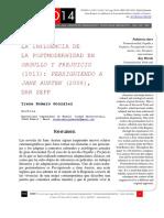 Romero -LaInfluenciaDeLaPostmodernidadEnOrgulloYPrejuicio.pdf