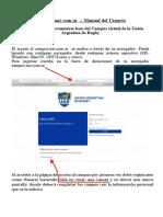 Manual de Uso - Campus Uar