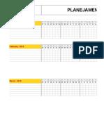 RDP0012 Planilha Calendario Checklist