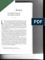 Sens Et Fiction - M.bernard
