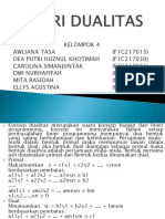 Riset Operasi 4 Dualitas Ppt Print