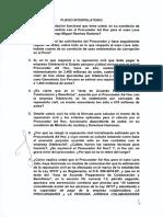 Estas son las preguntas que responderá Vicente Zeballos, ministro de Justicia y Derechos Humanos ante el Congreso