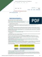 Formulación de Modelos de Programación Lineal - Monografias.com