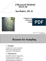 Chapter 08 - Qualitative and Quantitative Sampling - 7e