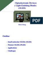 OLED (Minlu Zhang)