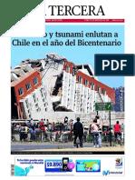 La Tercera 28 02 2010