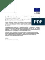 20190321-Local EU Statement on Gaza _EN