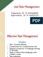 A a a Effective Task Management