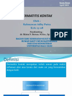 Kasbes Dermatitis Kontak