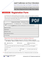 GL12 Registration Form