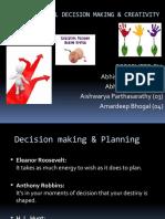 Rational Decision Making & Creativity