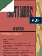 ESCOPETA CALIBRE 12.ppt