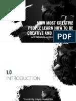 Tokoh - Creative & Critical Thinking