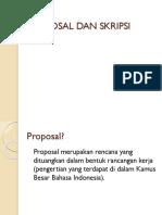 Proposal Dan Skripsi