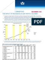 IATA Economics Briefing Impact of Recession Dec08