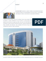 Innovations in Green Buildings Architecture