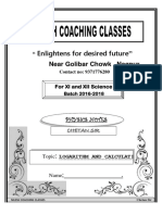 Nilesh coaching class ,  LOGARITHM AND CALCULATION, nagpur.docx