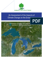 Great Lakes Climate Change Report
