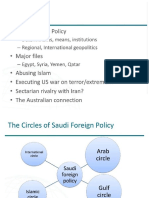 Saudi Foriegn Policy