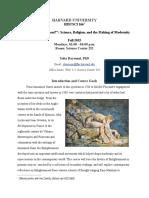 Enlightenment Syllabus - Fall 2015