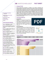 GNBT Investor Factsheet